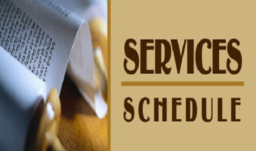 Services & Schedules