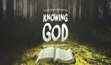 Selected Scriptures Knowing God Part 3